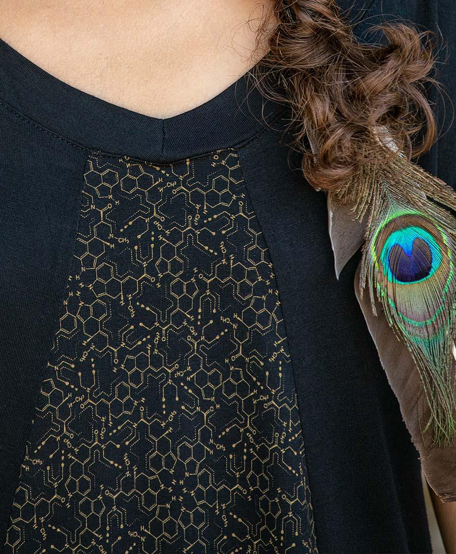 LSD Molecule Dress ➟ Full Print