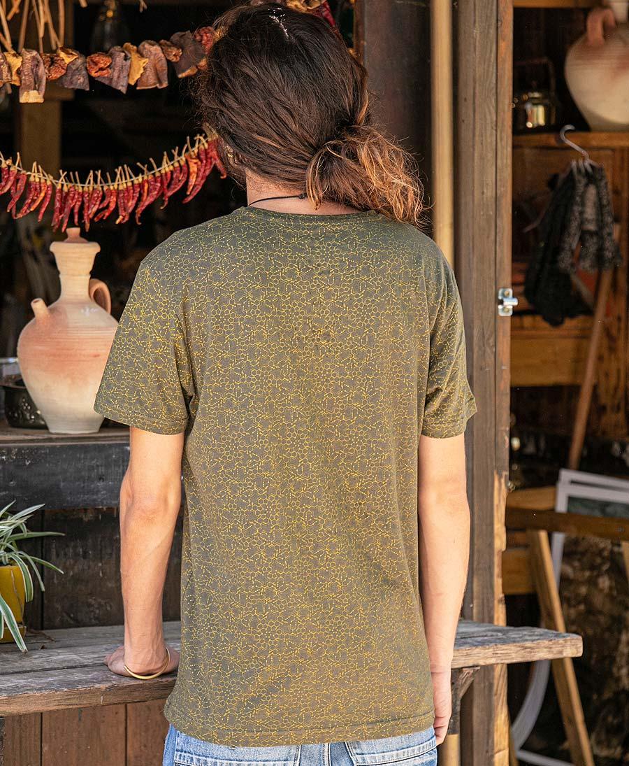 LSD Molecule T-shirt ➟ Olive