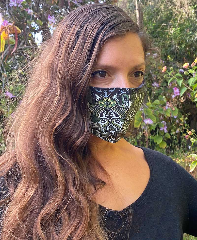 Lotusika Face Mask ➟ Full Print