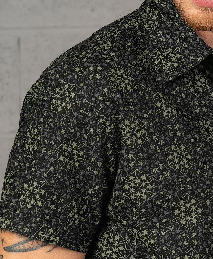 Hempi Button Shirt ➟ Black