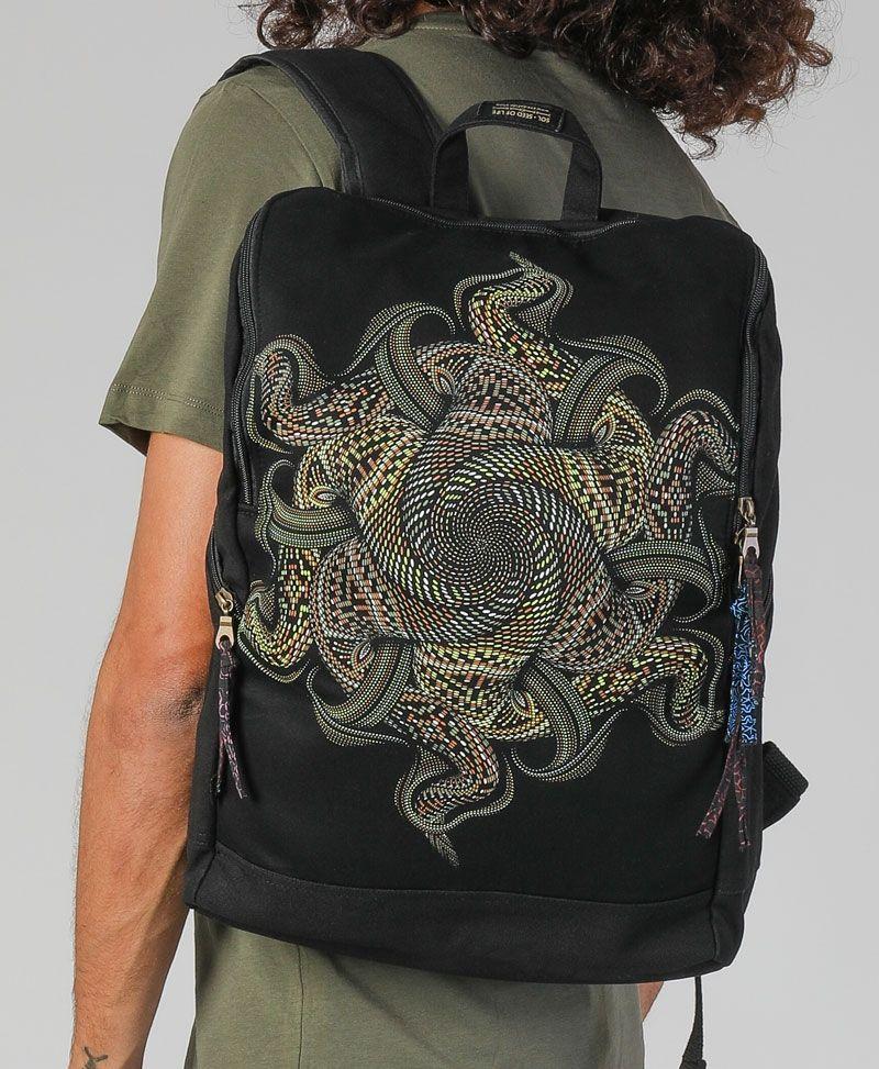 Vortex Backpack - Square- Khaki