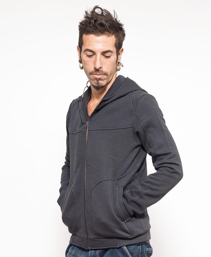 Anahata Hoodie Jacket ➟ Grey
