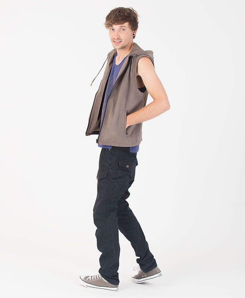 TriMurti Microfiber Vest ➟ Grey