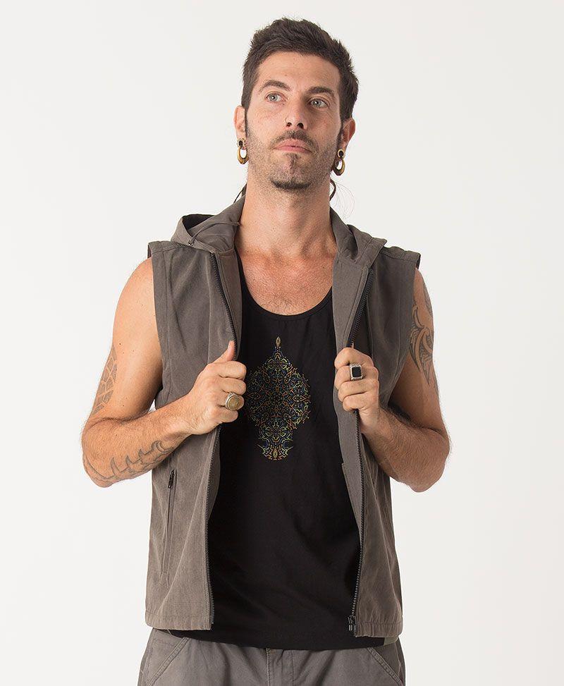 Peyote Microfiber Vest ➟ Olive