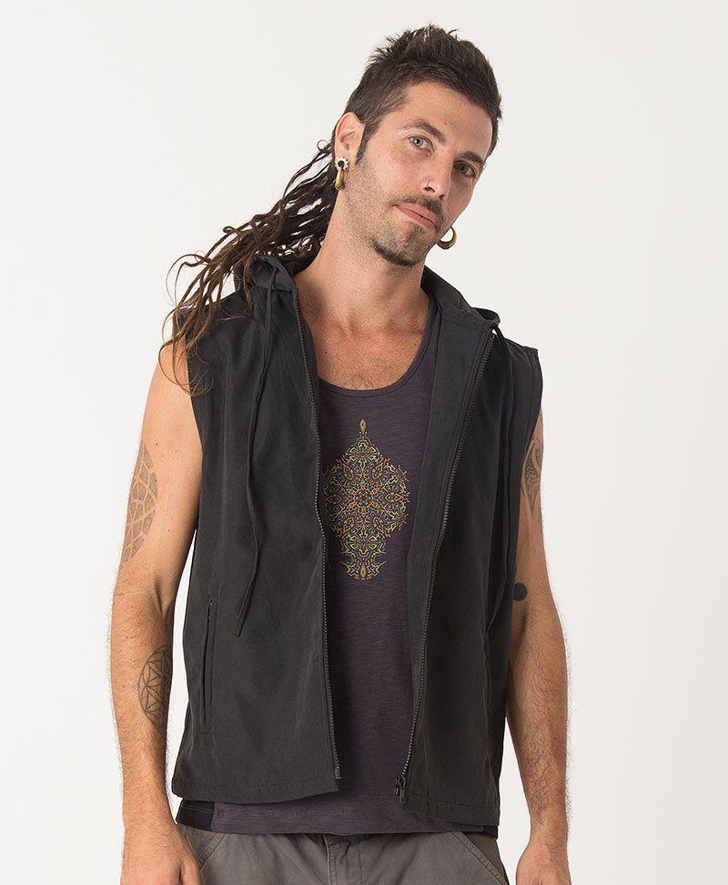 Peyote Microfiber Vest ➟ Black