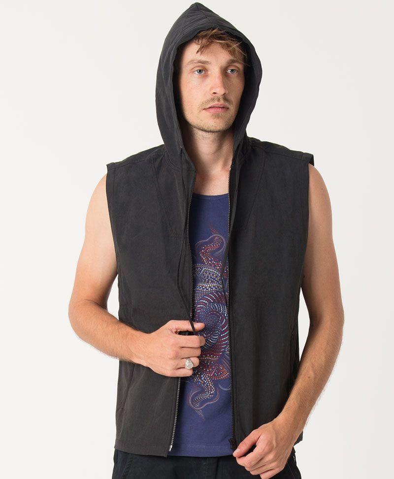 Vortex Microfiber Vest ➟ Black