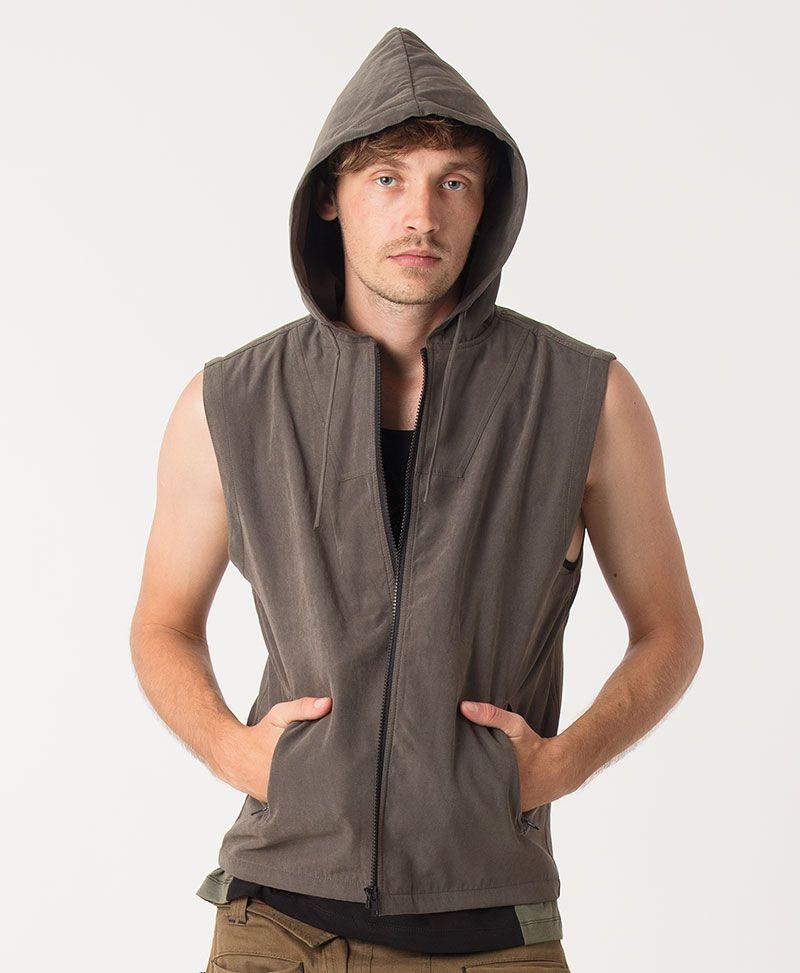 Vortex Microfiber Vest ➟ Olive
