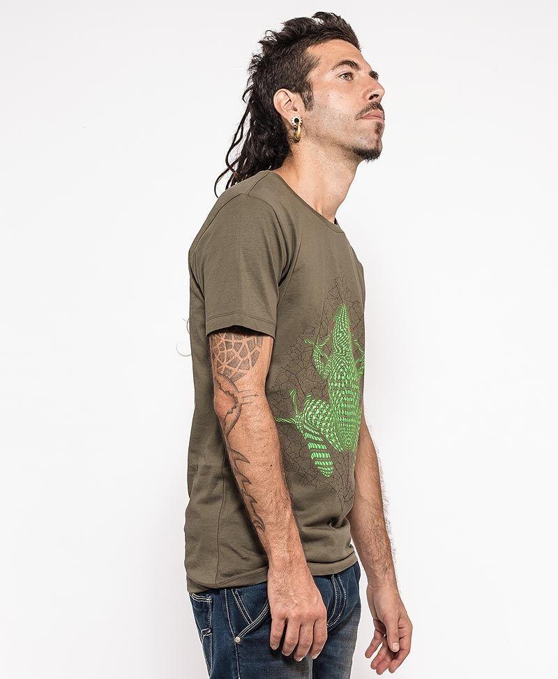Sapo Kambô T-shirt ➟ Olive