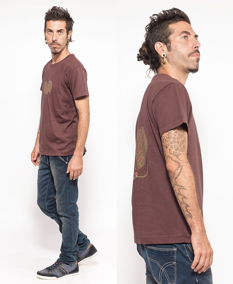 Uhloo T-shirt ➟ Brown