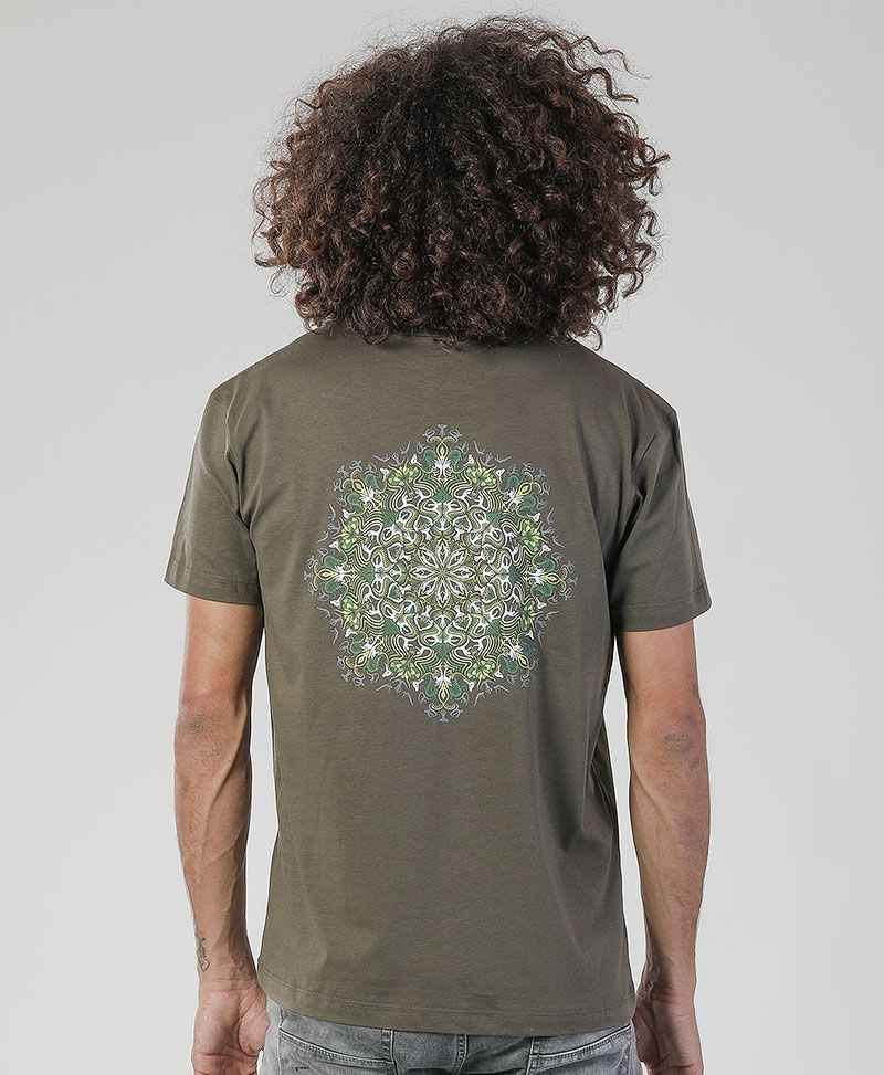 Lotusika T-shirt ➟ Purple / Brown / Olive