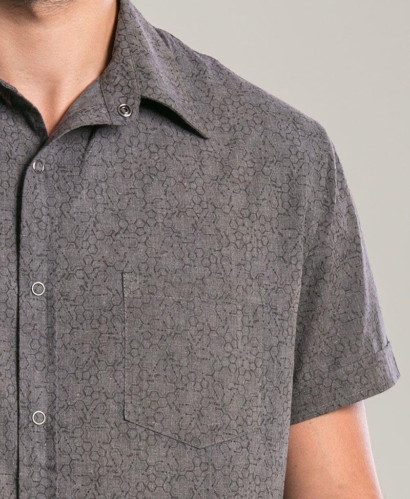 LSD Button Shirt ➟ Dark Grey