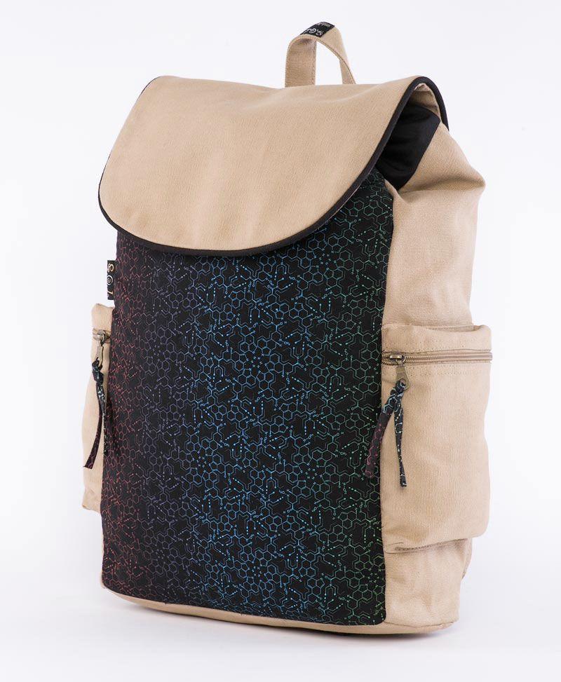 LSD Molecule Backpack- Stone