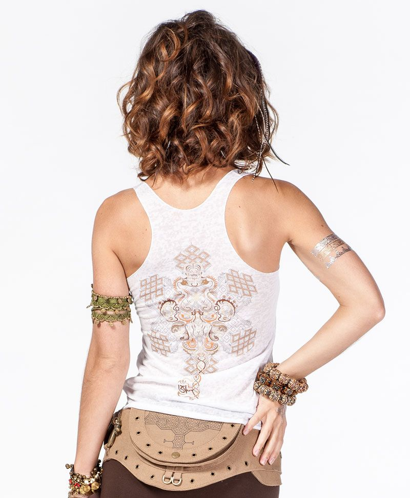 Om On Key Burnout Top
