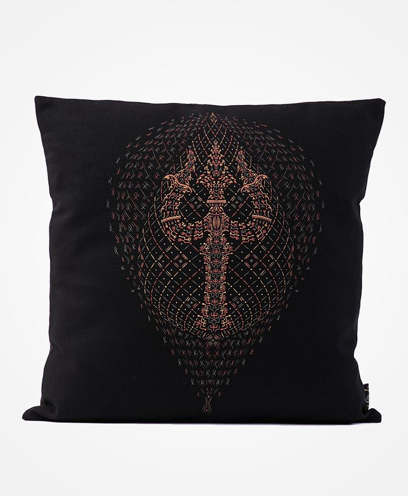 Trishul Cushion Cover