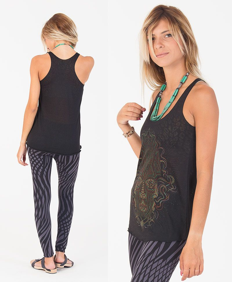 Trimurti Top ➟ Black Burnout