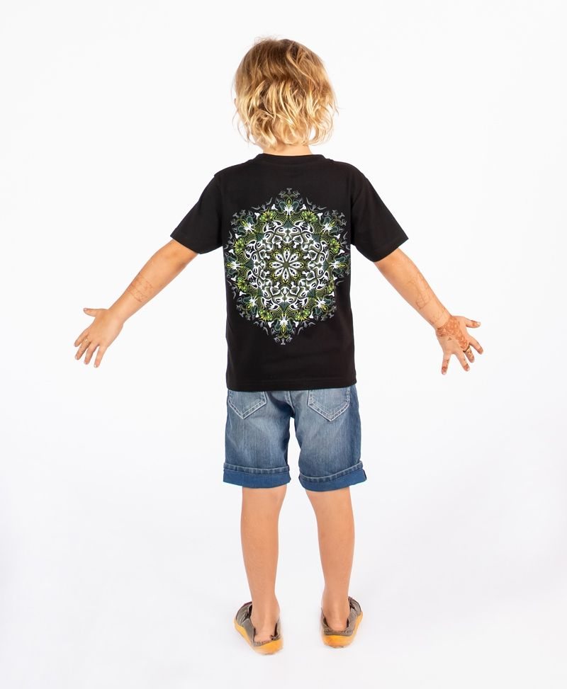 Lotusika Kids T-shirt ➟ Black