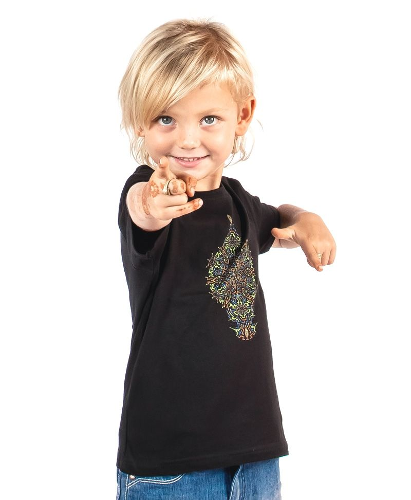 Peyote Kids T-shirt ➟ Black