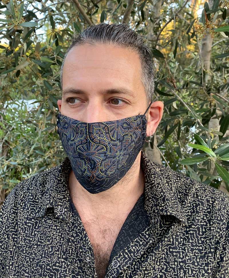 Peyote Face Mask ➟ Full Print
