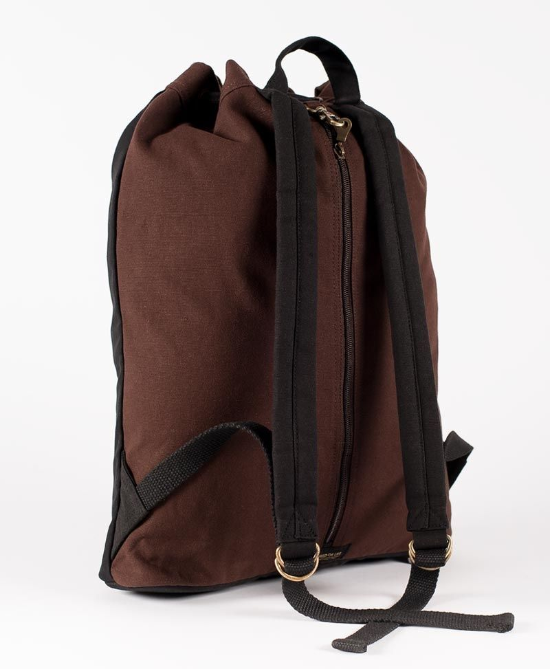 Trishula ➟ Padded Straps Drawstring Backpack