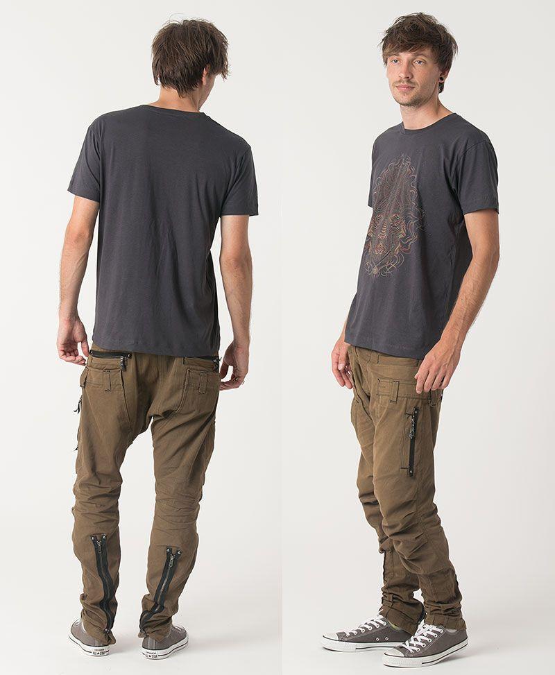 TriMurti T-shirt ➟ Black / Grey