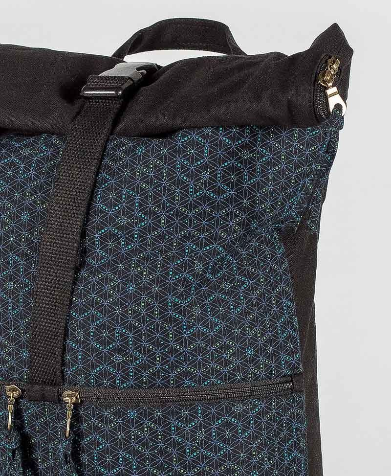 Seeds Roll-Top Backpack