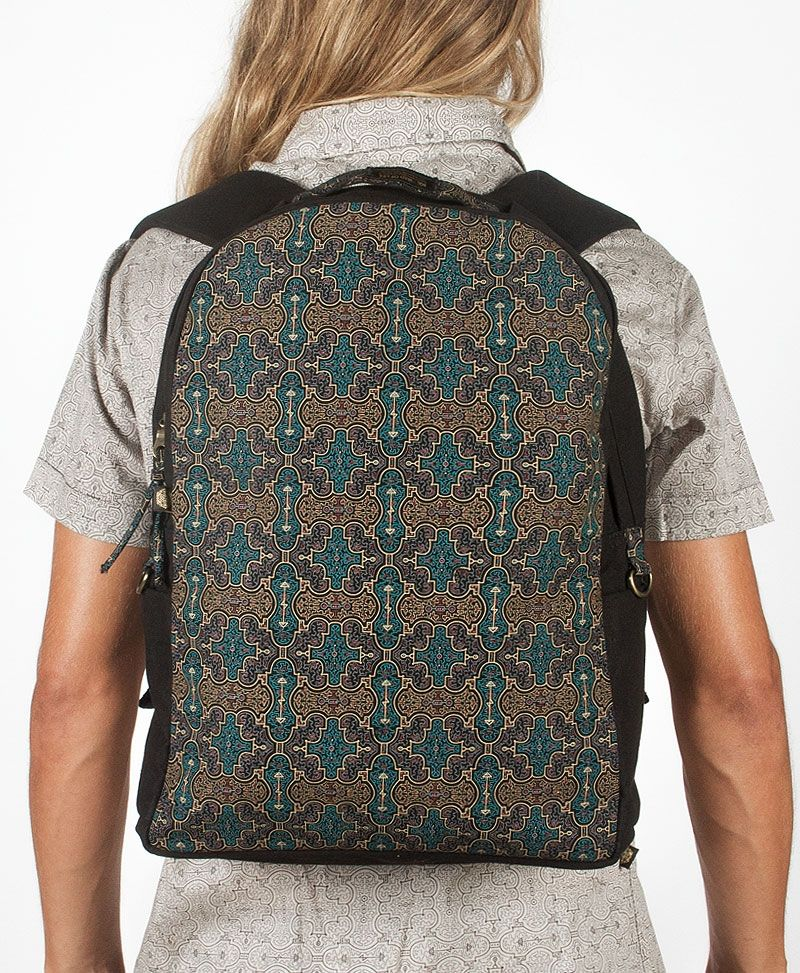 NEW Shipibo Kené Backpack- Round