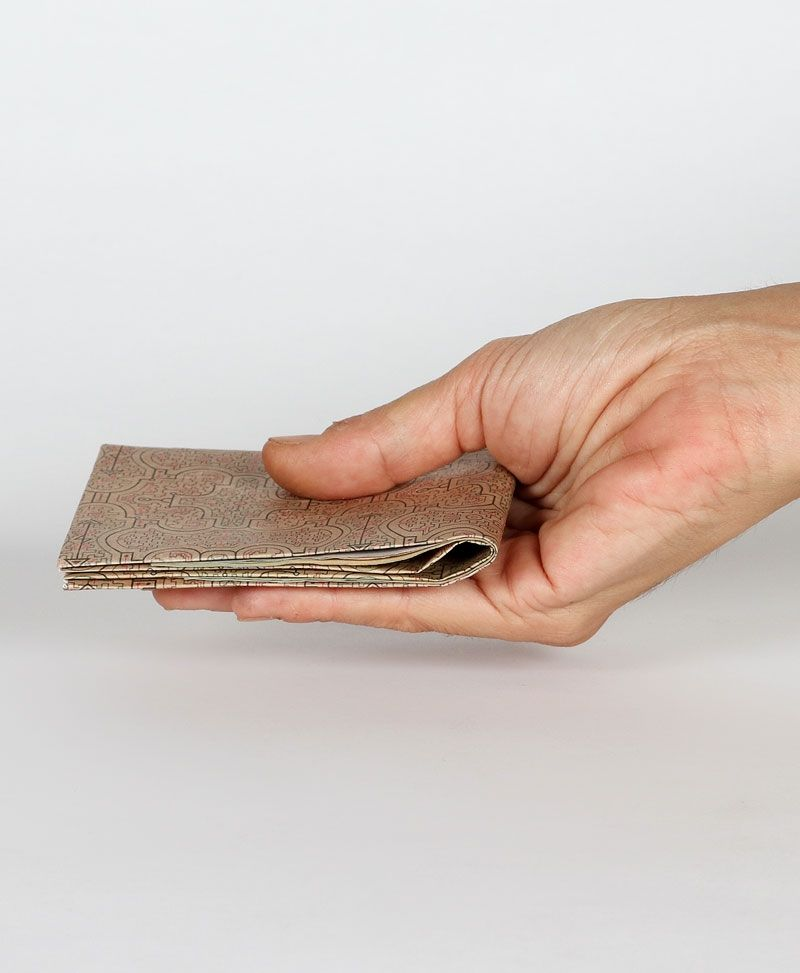 Shipibo Kené Tyvek Paper Wallet