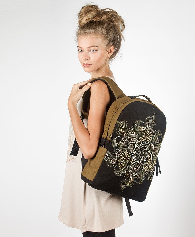 Vortex Backpack - Round - Khaki