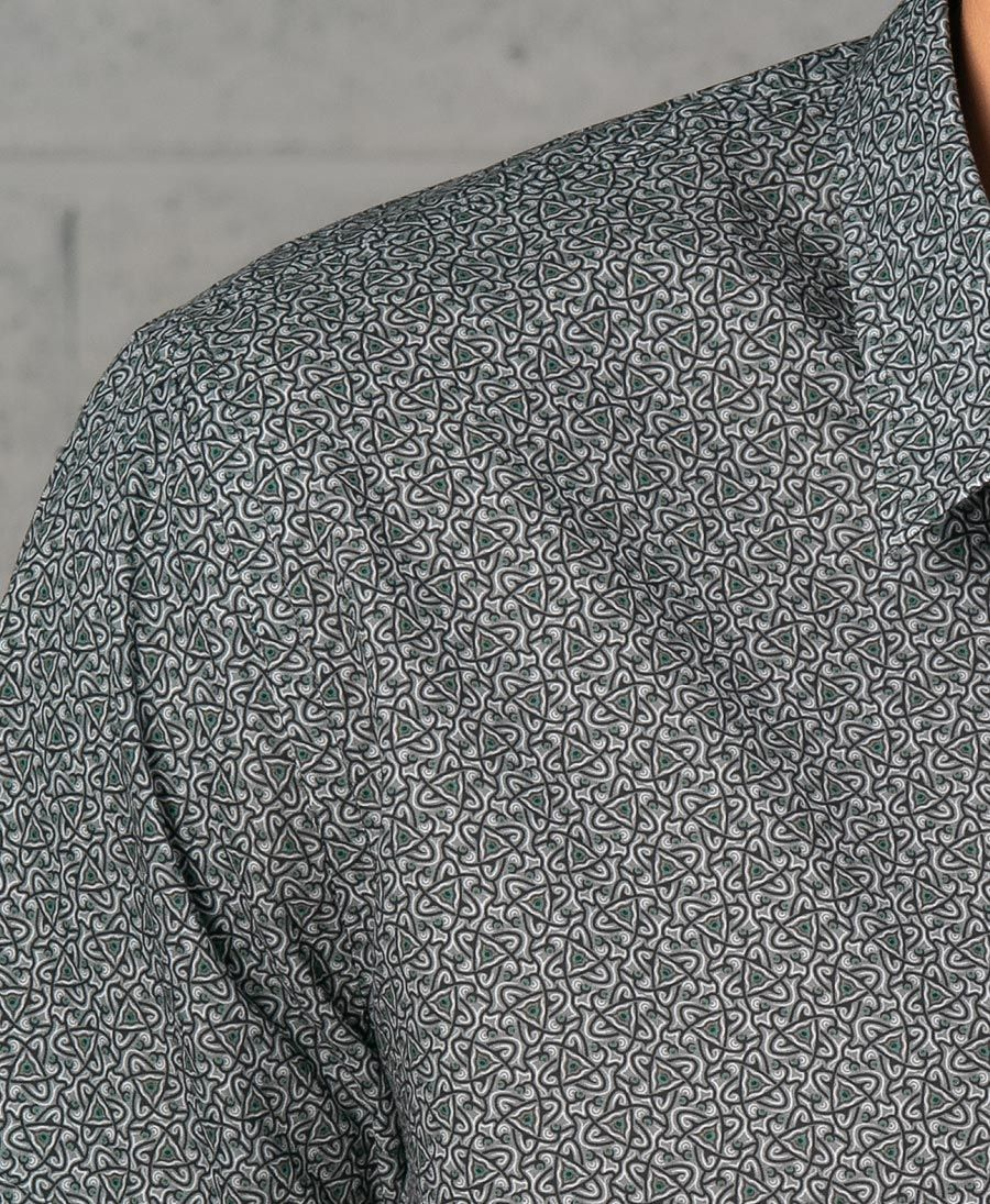 Atomic Button Shirt