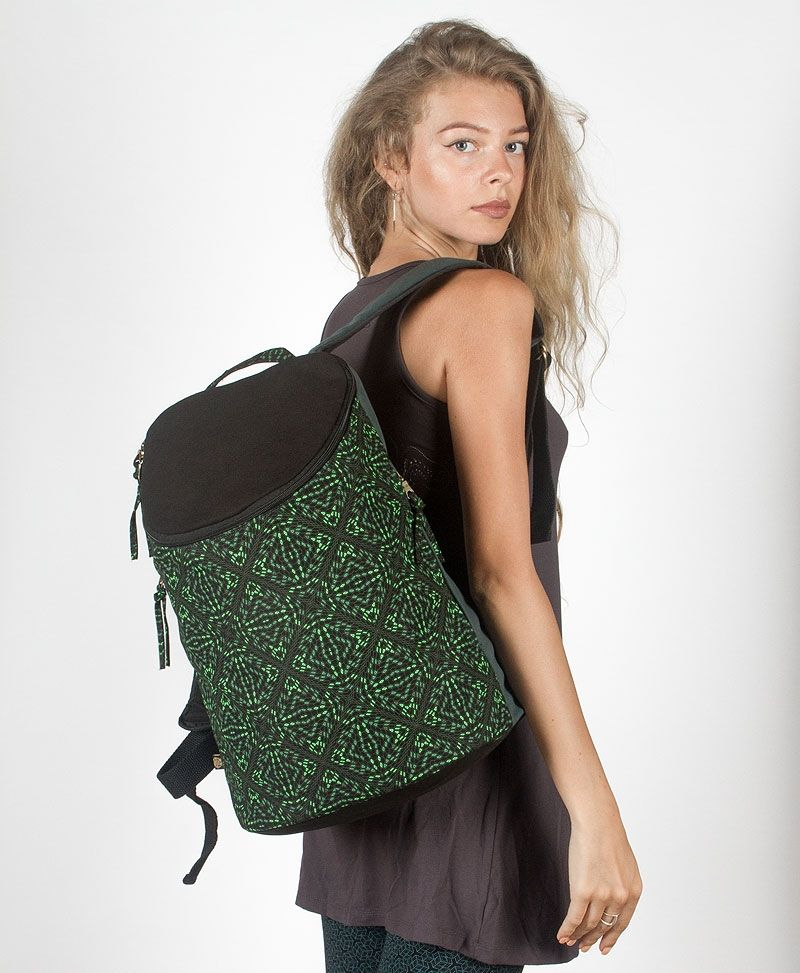 Hexit Wide Top Backpack